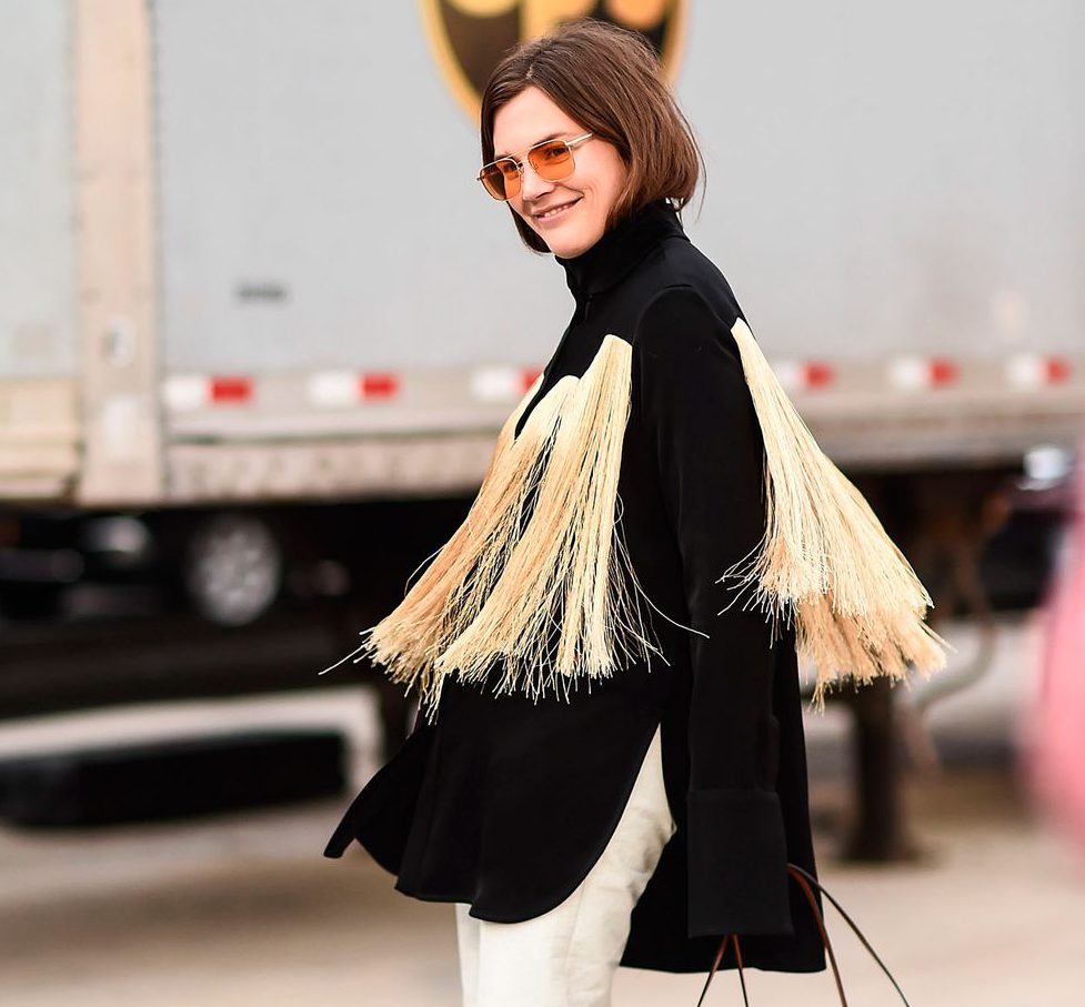 20 lessons to learn from the NYFW street stylers. HarpersBazaar USA